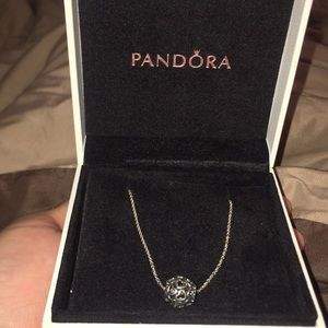 Pandora Harmonious Hearts Necklace